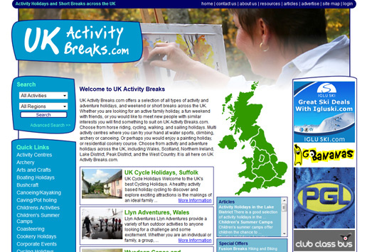UK Activity Breaks